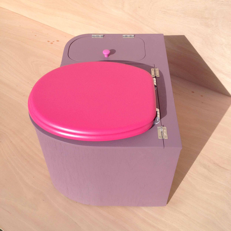 toilette seche arrondie