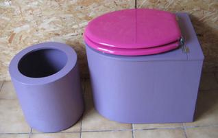 Toilette seche moderne
