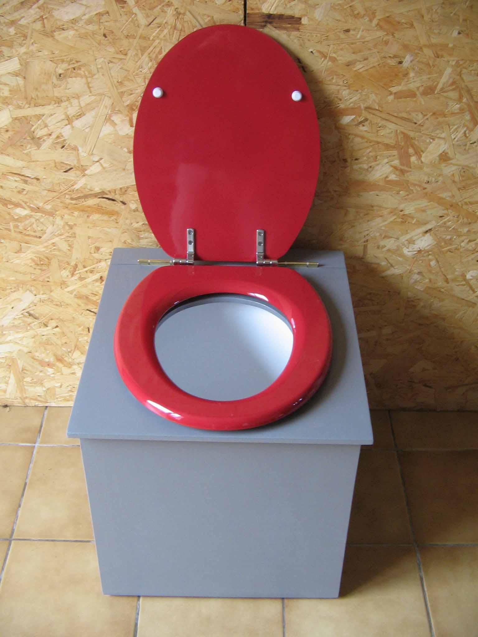 toilette sèche pas cher gris