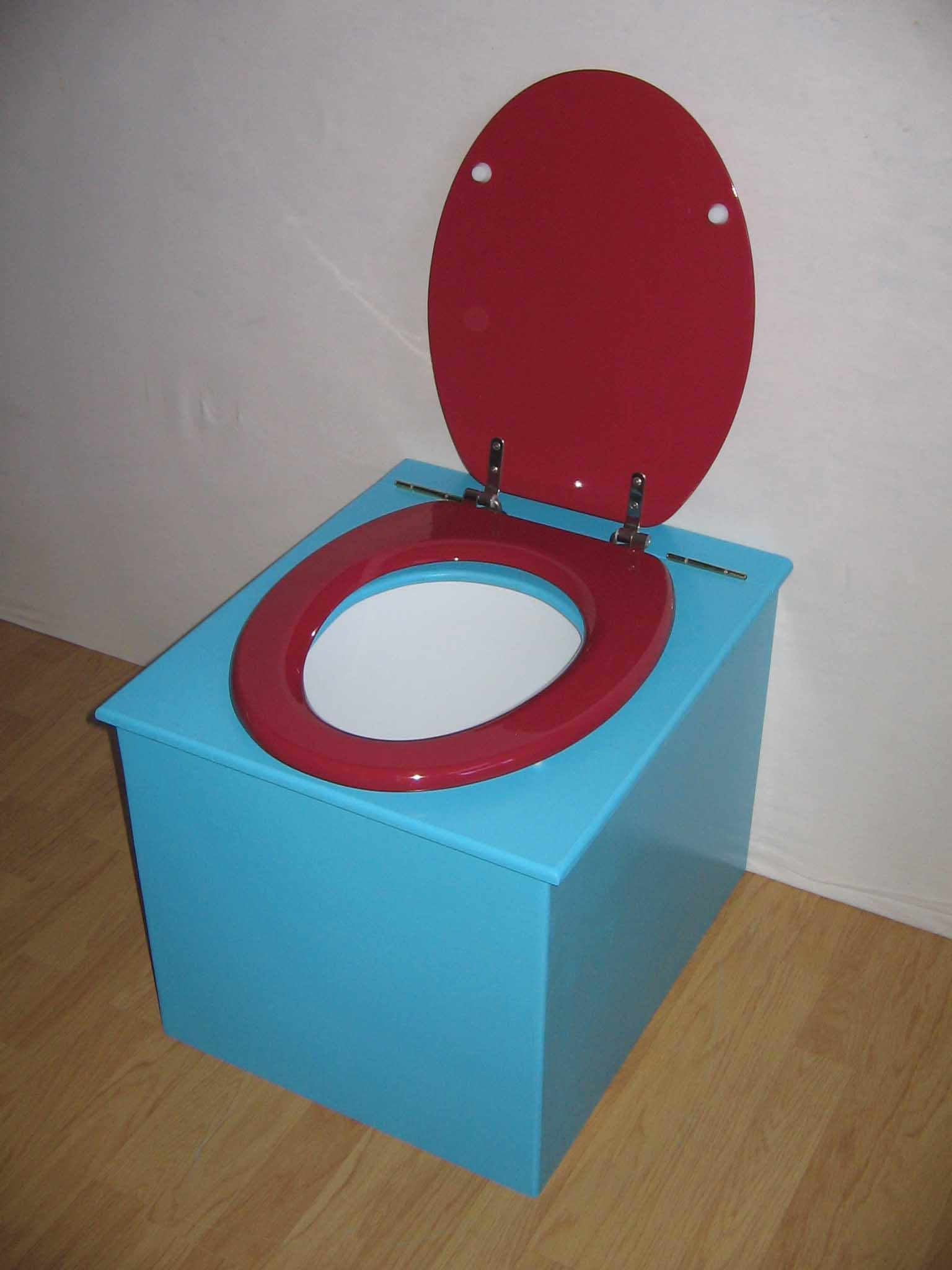 toilette sèche prix bleu