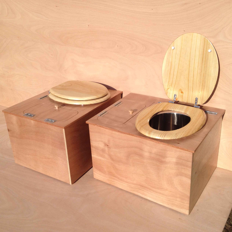 toilettes pour chalet