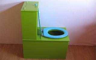 Toilette sans eau