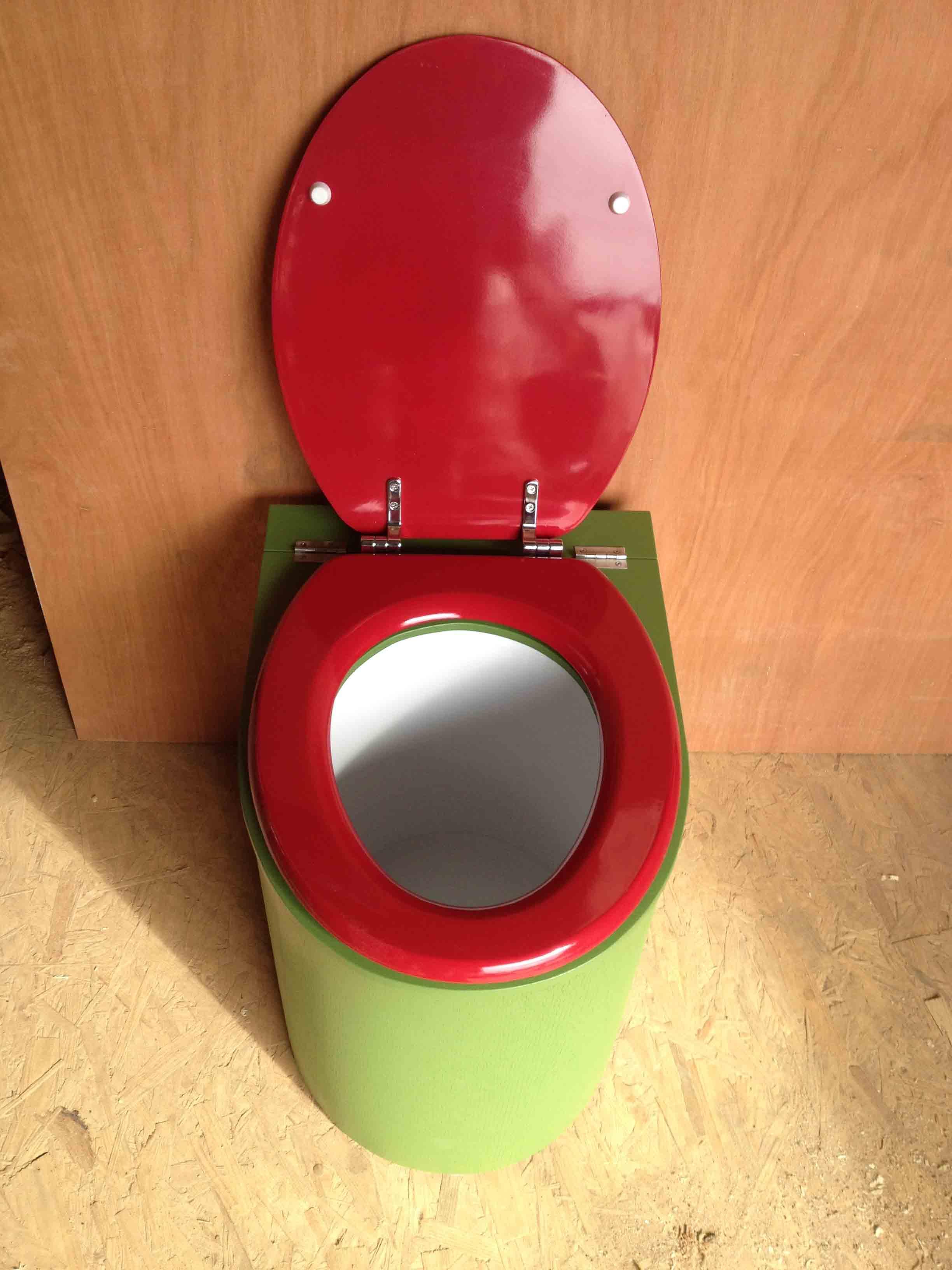 Toilette seche design vert