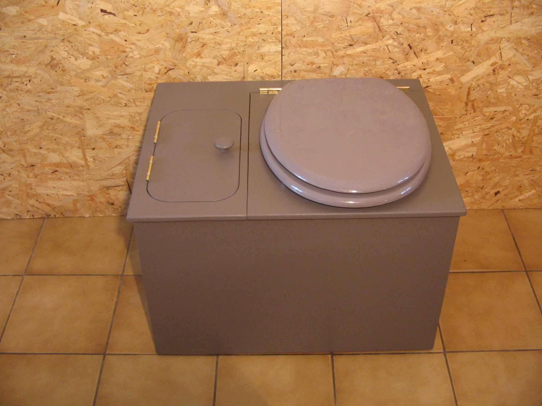 wc ecologique gris