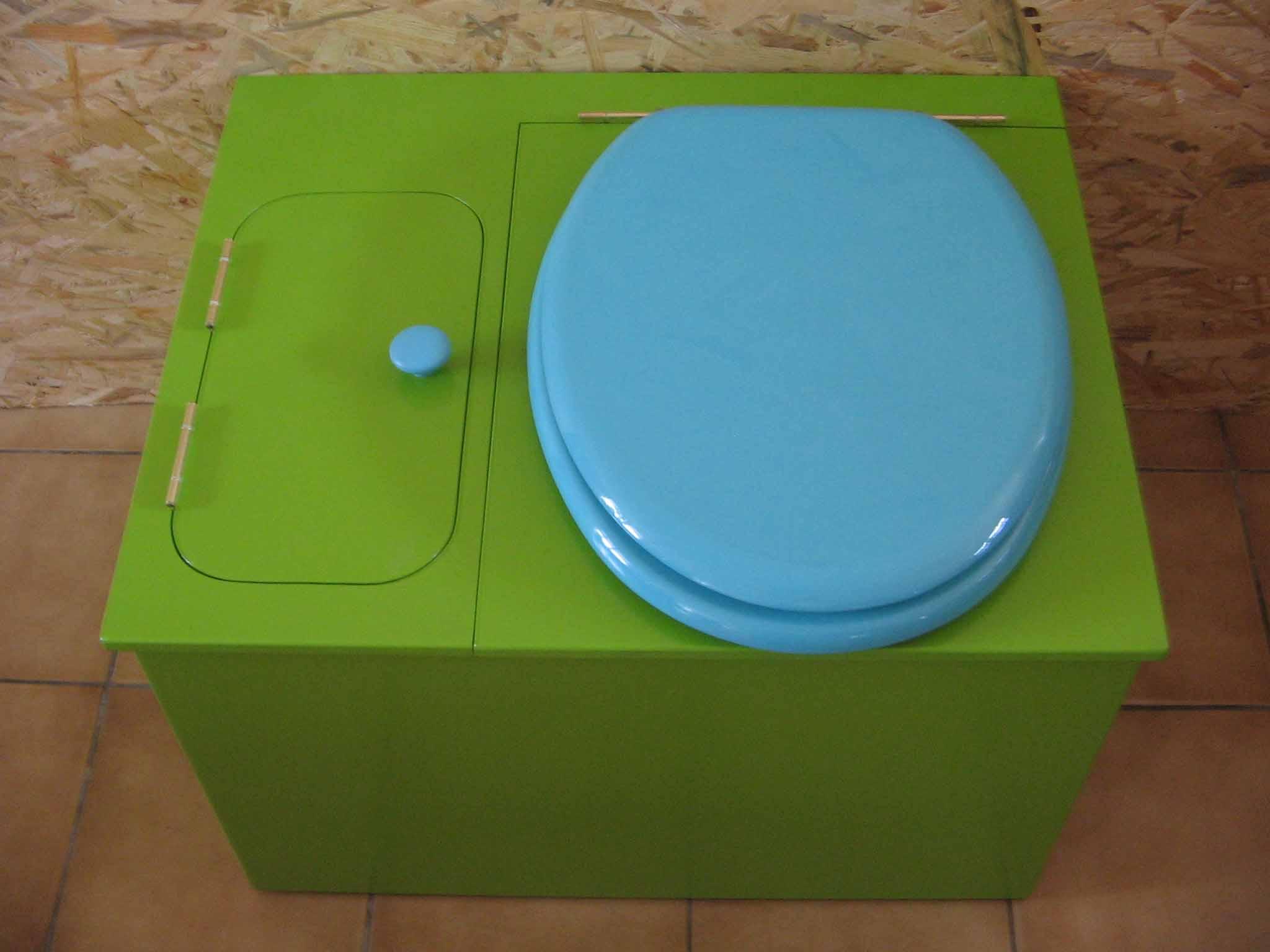 wc ecologique vert
