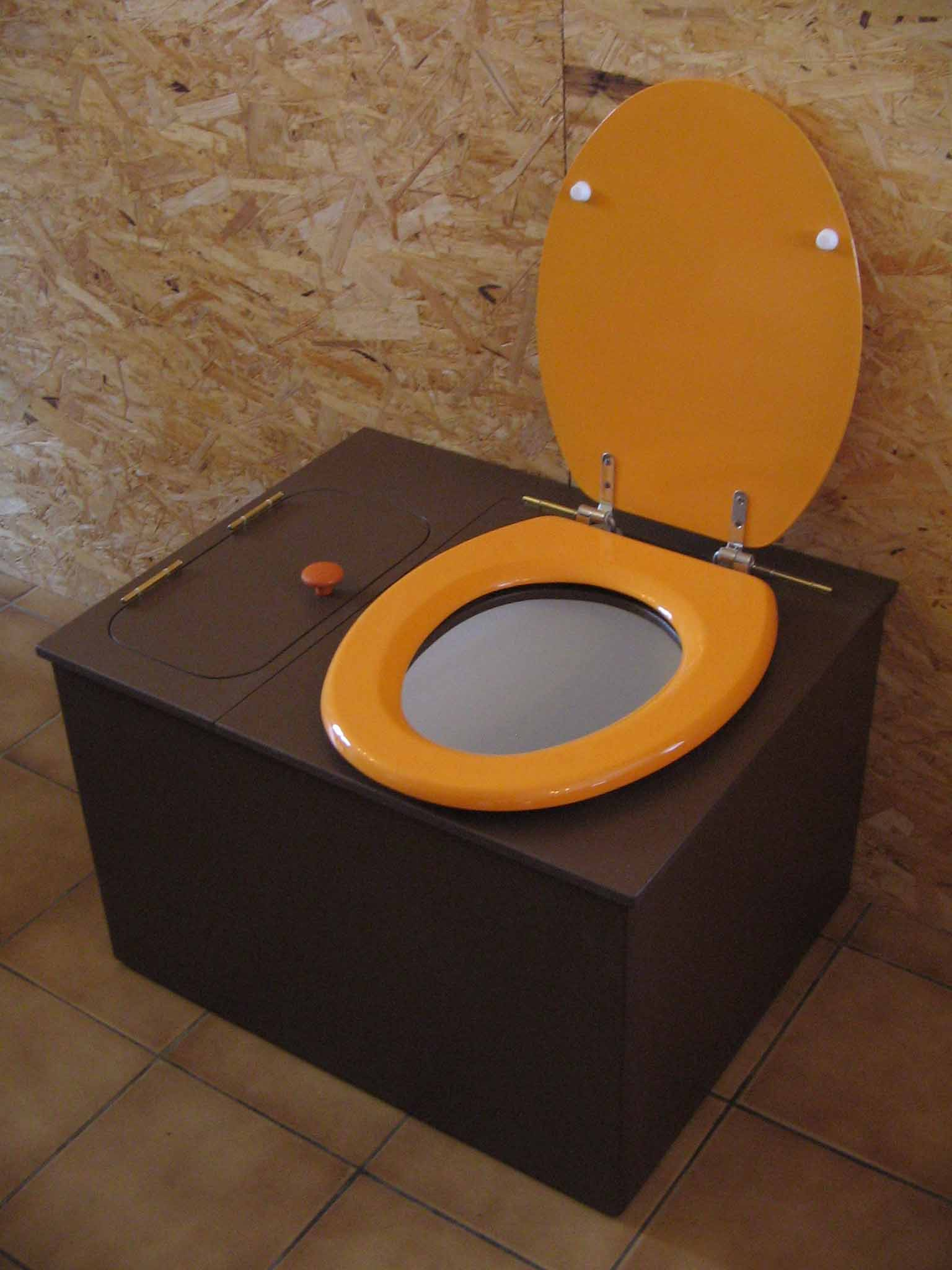 wc seche marron