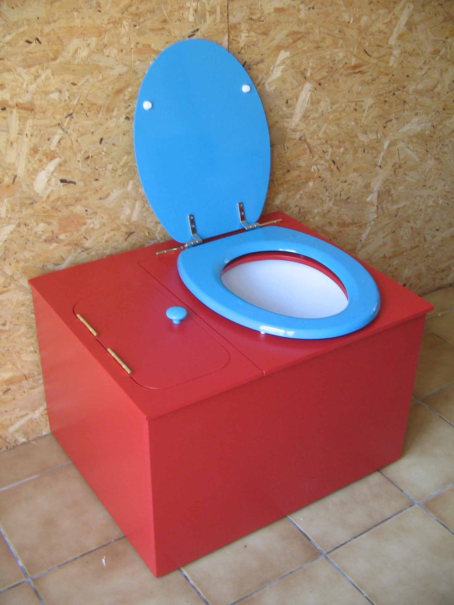 wc seche rouge