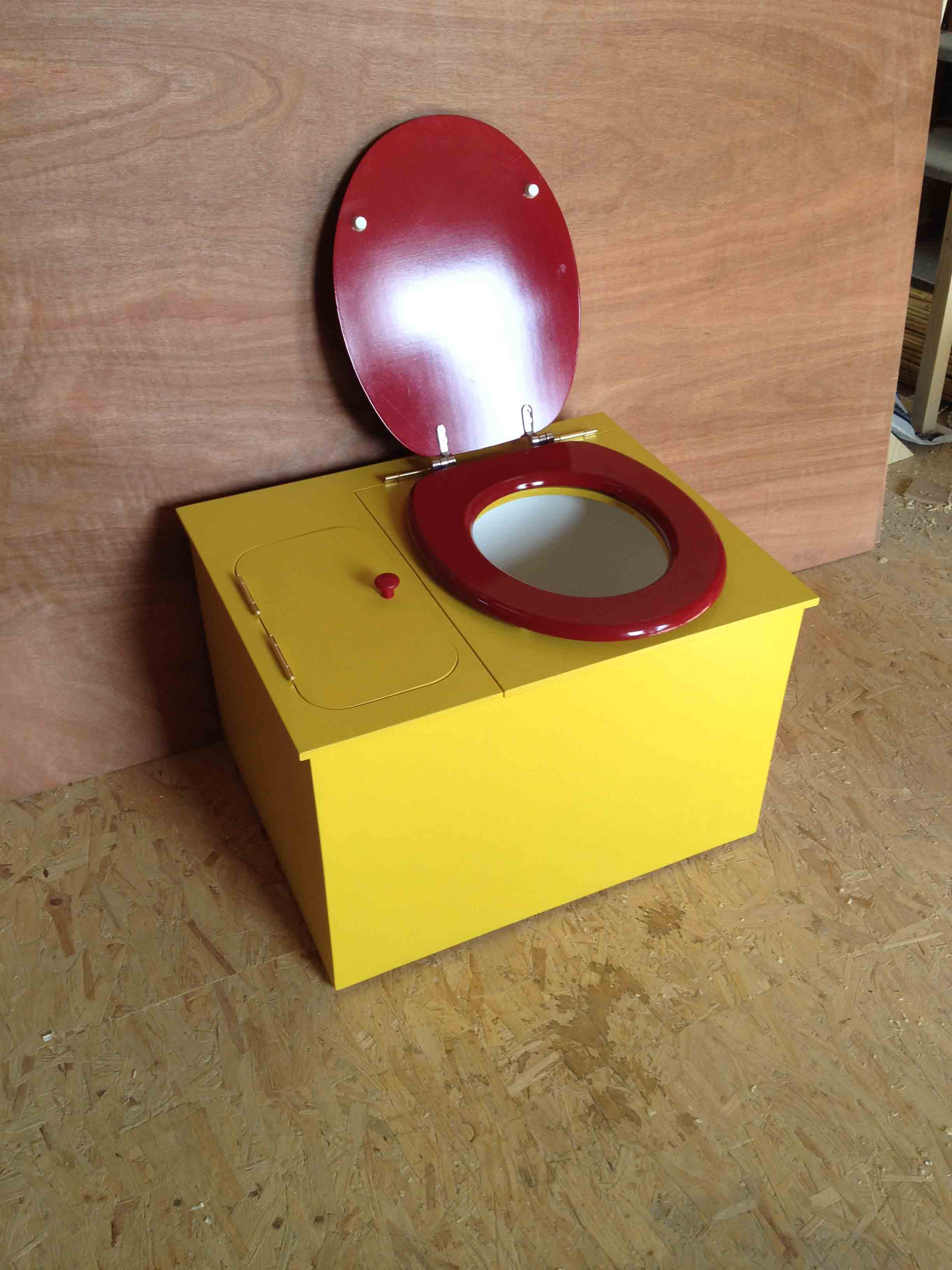 wc sec jaune